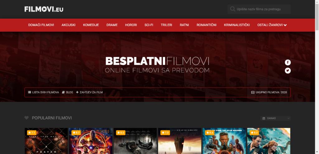 gledati filmove online na Filmovi.eu