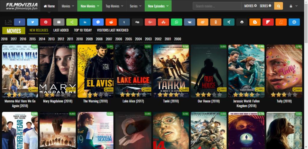 Sajt za gledanje filmova online - filmovizija