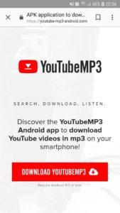 aplikacije za skidanje muzike na telefona sa youtube YouTubeMP3