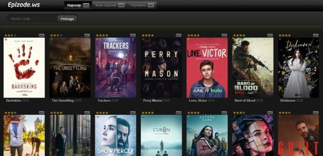Sa i filmova besplatno za serija sajtovi prevodom gledanje najbolji sajtovi